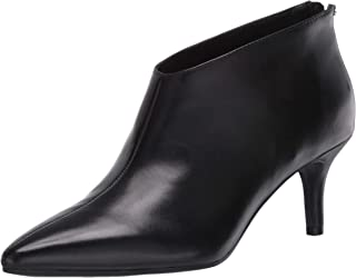 Aerosoles Women's Roxbury Ankle Boot, Black Leather, 5 M US