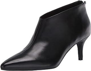 Aerosoles Women's Roxbury Ankle Boot, Black Leather, 10 M US