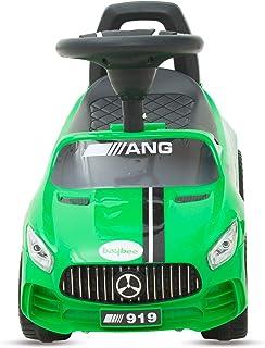 Megastar - Ride On Licensed Mercedes Sporty Push Car, Green, 919 - G