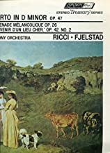 Sibelius: Violin Concerto in D Minor, Op.47 and Tchaikovsky: Serenade Melancolique, Op.26 and Scherzo From