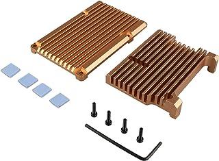 JYOPTO - Carcasa de aleación de aluminio para ordenador modelo B, carcasa de aleación de aluminio pasiva, carcasa de metal de disipación de calor (carcasa sin ventilador)