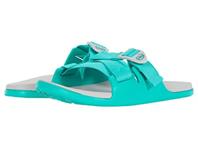 Chaco Chillos Slide (Teal) Women