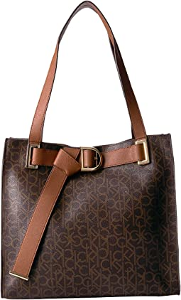 Nola North/South Monogram Tote