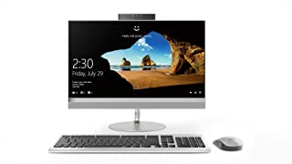 Lenovo Ideacentre AIO 520 All-in-One Desktop, Intel Core i5-8400T, 21.5 Inch, 1TB HDD, 8GB RAM, AMD RADEON 530, Win10, Eng-Ara KB, SILVER