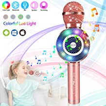 weird tails Wireless Karaoke Microphone, Handheld Bluetooth Microphone with Speaker and..