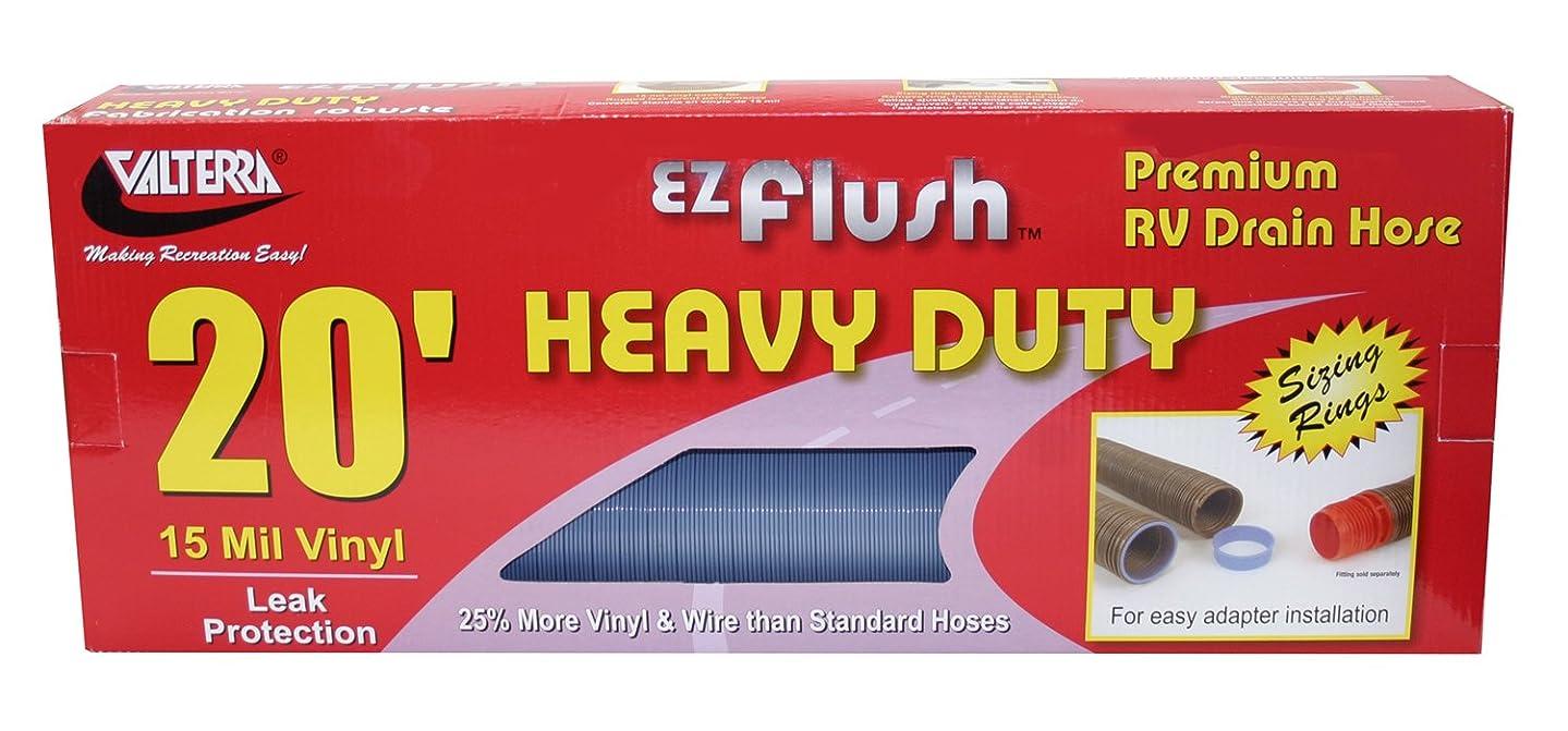 Valterra D04-0042 EZ Flush Blue 20' Boxed Heavy Duty Drain Hose