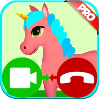 unicorn fake video call game - Free Fake Phone Call ID And Fake Text Message PRO 2019 - PRANK FOR KIDS!
