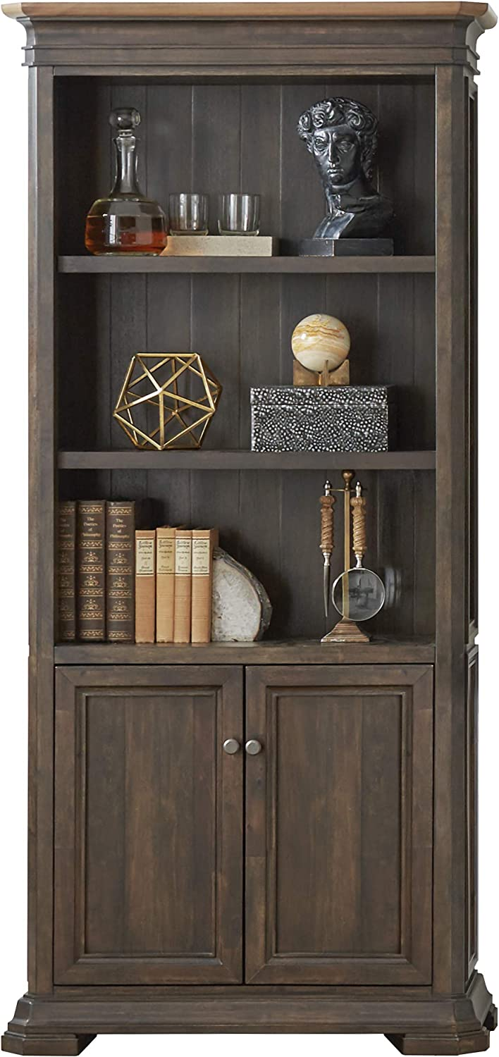 Martin Furniture Under blast Sales results No. 1 sales IMSA3678D Executive Fully with Doors Bookcase