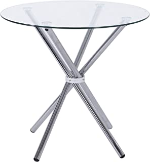 Noorsk Design Mesa Redonda de Cocina o Comedor Mikado 80 cm.