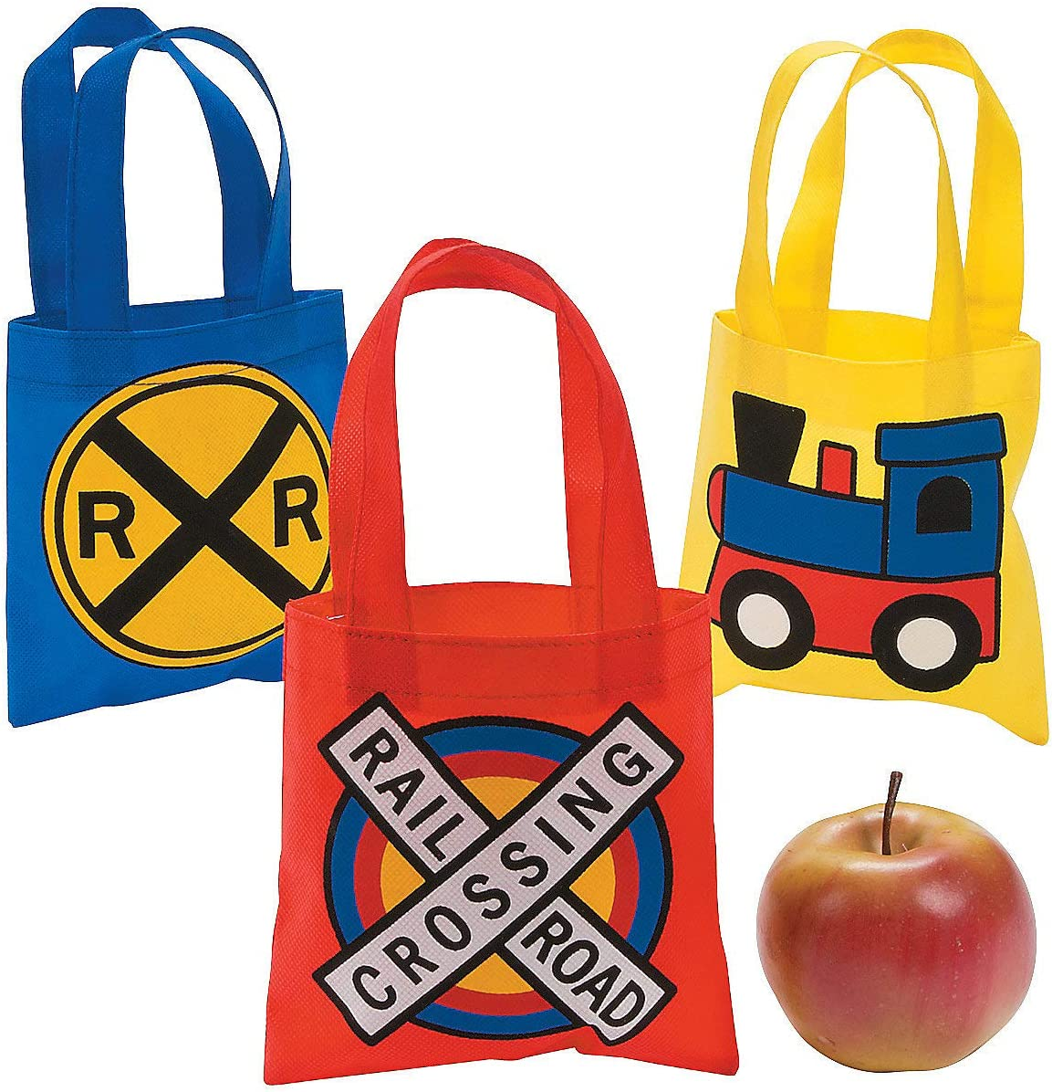 Medium Train Tote bag Book bag|Custom train tote|Train toy tote Personalized Train tote|Library tote|Boys Preschool tote|Train Party theme