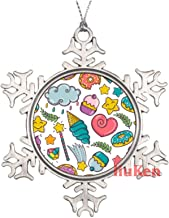 African Triangle Seamless Pattern Christmas Ornaments,Christmas Tree Decoration Ornaments,Christmas Keepsake 2020 Xmas Gif...