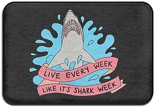 New Doormats Live Every Week Like Shark Nice Outdoor Mats Indoor Door Mats Non-slip Doormat Coral Fleece Indoor Outdoor Ki...