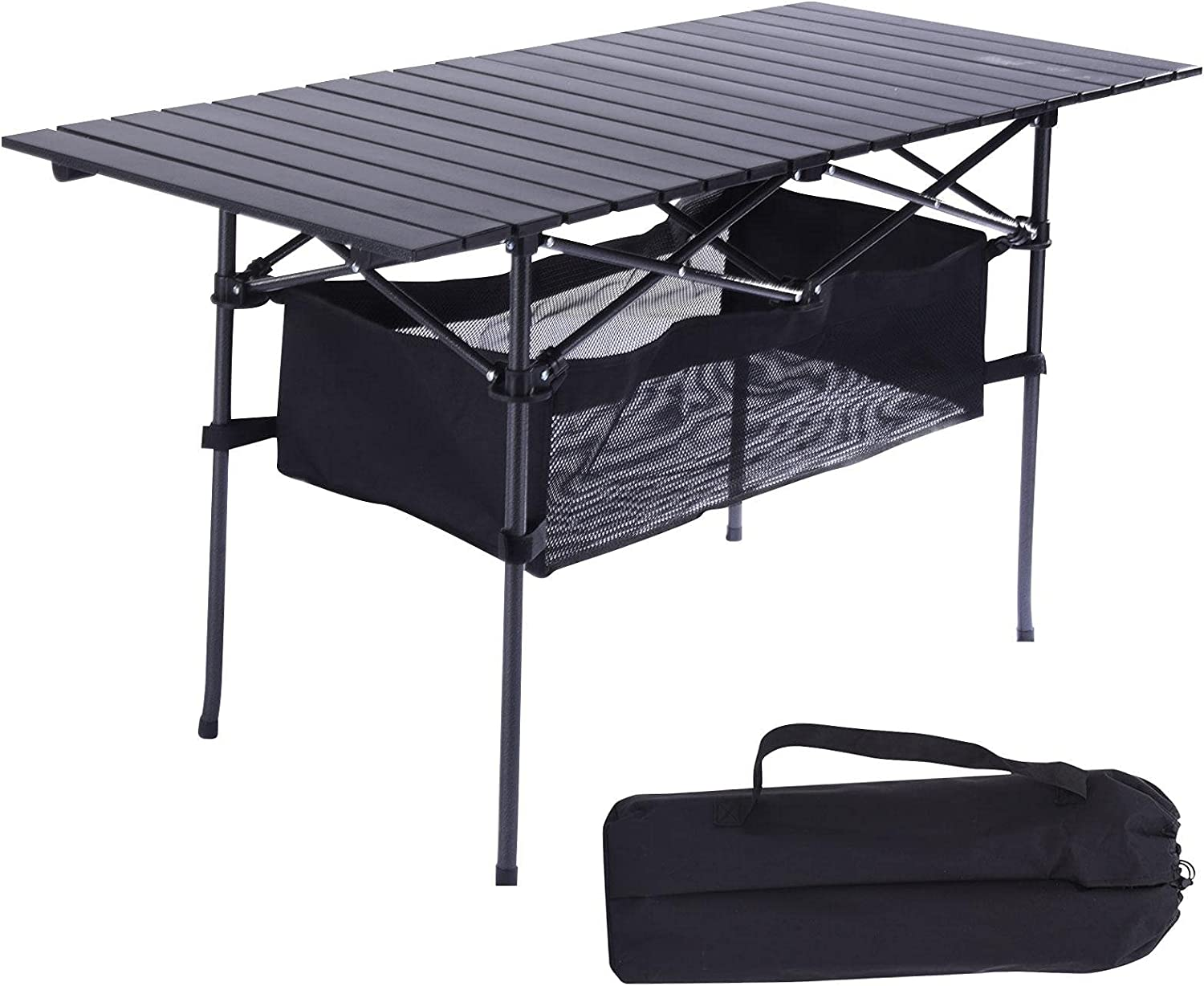 Portable Camping Tables That Lightweight Max 84% OFF 47.2x21.6x26.7i Quality inspection up Fold