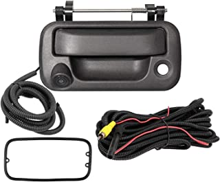 $69 » ZJCWORKS Tailgate Handle with Backup Camera, Rear View Camera for Ford 2004-2014 F150, 2008-2016 F250/F350/F450/F550, Repl...