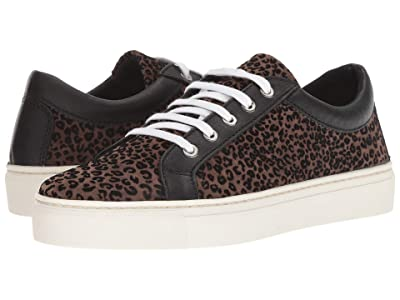 The FLEXX Sneak Away (Sabbia/Black Flock Leo/Manolete) Women