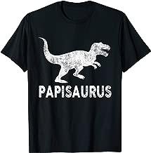 Papisaurus Shirt Papi Dinosaur Fathers Day Gifts Men Daddy