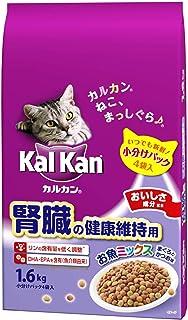 カルカン ドライ 腎臓の健康維持用 お魚ミックス まぐろとかつお味 キャットフード 1.6kg
