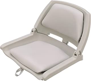 Attwood 98391GY Padded Flip Boat Seat, Gray