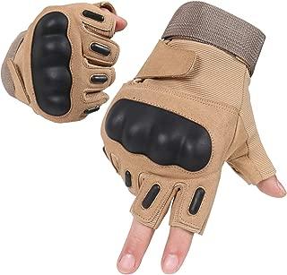 Best hard knuckle half finger gloves Reviews