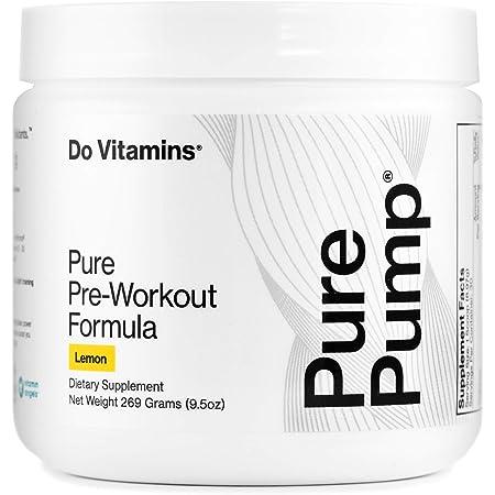 Amazon Com Purepump Lemon Natural Pre Workout Supplement For Men Women Cleanest Pre Workout Powder Fitness Supplements Certified Vegan Non Gmo Crystallized Lemon Health Personal Care