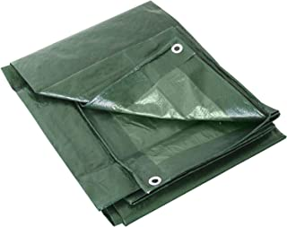Labor 0300152Lona de PVC reforzada con ojales, verde, 68292