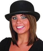 Fun World Unisex-Adult's Derby Hat-Black, Standard