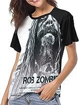 Rob Zombie Icon Woman Classic Fashion Print T-Shirt