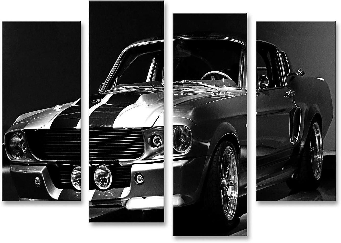 Mustang GT 1967 Rossa Targa in Metallo