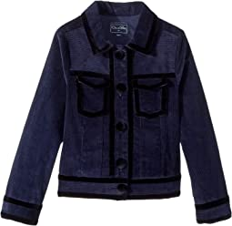 Bolero Raw Edge Jacket (Little Kids/Big Kids)