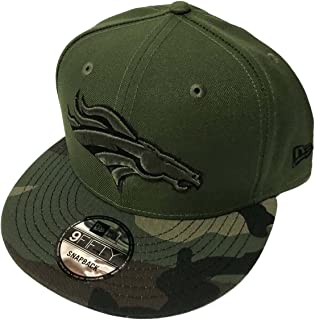 New Era Authentic Denver Broncos Salute to Service Limited Exclusive 9FIFTY Snapback Cap