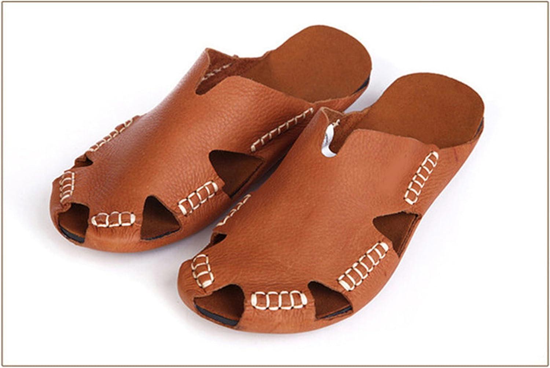 Greuses Women Sandals 100% Authentic Leather Gladiator Sandals Women Summer shoes Beach Slides Ladies shoes