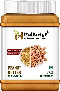 HEILBRIGT All NATURL Crunchy Peanut Butter 1 KG