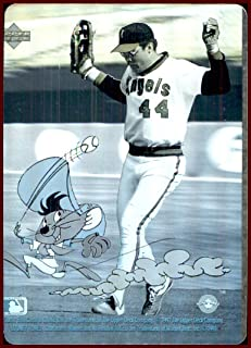 Reggie Jackson HOF 1991 Upper Deck Comic Ball Looney Tunes SPEEDY GONZALES HOLOGRAM CALIFORNIA ANGELS