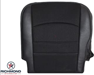 Richmond Auto Upholstery - Driver Side Bottom Replacement Seat Cover, Black (Compatible with 2015 Dodge Ram 1500 Sport)