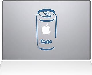 "The Decal Guru 0061-MAC-15X-LB Apple Cola Vinyl Sticker, 15"" Macbook Pro (2016 & newer), Blue"