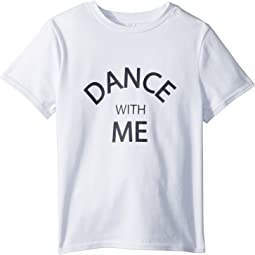 Printed Dance with Me Graphic Tee (Big Kids)