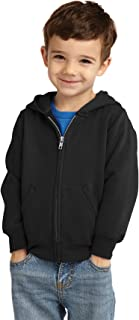 Precious Cargo Infant Full-Zip Hooded Sweatshirt CAR78IZH Jet Black 06M