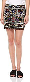 2Xtremz Embroided Scallop Mini Skirt for Women