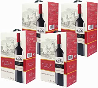 セニョリオ・デ・マレステ カベルネ・ソーヴィニョン BIB [ 赤ワイン ミディアムボディ スペイン 3000ml×4箱 ]