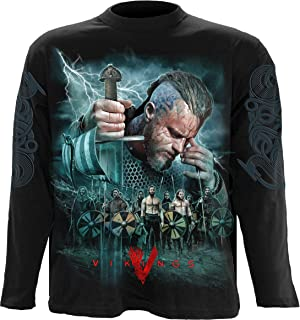 Mens - Vikings - Battle - Vikings Longsleeve Black