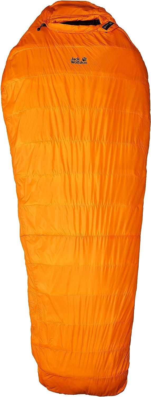 Jack Wolfskin Base Camp -29 Degrees Celcius Sleeping Bag, Bag Burly Yellow