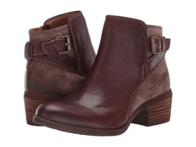Comfortiva Creston (Bridle Brown Wild Steer/Cow Suede) Women