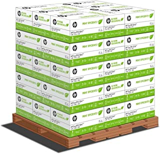 HP Printer Paper, EcoEFICIENT 16lb Copy Paper, 8.5 x 11, Letter - 1 Pallet / 48 Cartons (STANDARD LOADING DOCK DELIVERY)