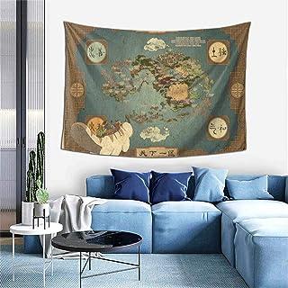 HUADIZ Avatar The Last Airbender Tapestry Wall Hanging 3D Print Boutique Art Blanket for Living Room Bedroom Dorm Decor 60x40 in