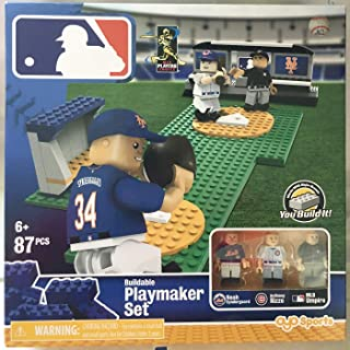 Major League Baseball Buildable Playmaker Set Syndergaard Rizzo