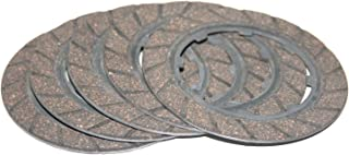 Enfield County Set Of 5 Clutch Plates For Jawa 250 350 Perak 353 354 Motorcycles