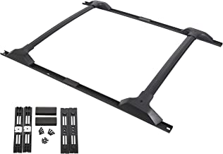 ECOTRIC Factory Style Aluminum Roof Rack Cross Bars & Side Rail Package for 2009-2017 Chevy Chevrolet Traverse.