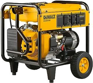 Portable Generator: DEWALT Generators 7,000-Watt Gasoline Powered Electric Start