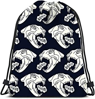Drawstring Backpack Bags Sports Cinch Gorilla King Kong String Backpack Bulk Storage Bags For School Gym