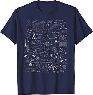 Science Physic Math Chemistry Biology Astronomy T Shirt
